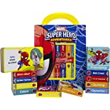 Marvel - Spider-man Super Hero Adventures - My First Library Board Book Block 12-Book Set - Includes Characters from Avengers