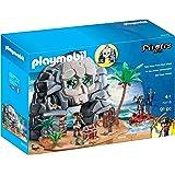 PLAYMOBIL 70113 Take Along Pirate Skull Island