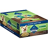 Blue Buffalo Delights Natural Small Breed Wet Dog Food Cups Variety Pack, Filet Mignon and New York Strip Flavor 3.5 Oz (12 p