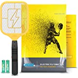 Ostad Electric Fly Swatter Racket - Bug Zapper Racquet - Handheld Bug, Insects, Fly & Mosquito Zapper Racket Killer for Indoo