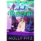 Purebreds & Purrjury: A Hilarious Mystery Starring a Shifter Stuck in Cat Form (Claw & Order Book 2)