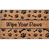 Ninamar Door Mat Wipe Your Paws Natural Coir - 29.5 x 17.5 inch