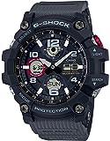 [カシオ] 腕時計 ジーショック MUDMASTER 電波ソーラー GWG-100-1A8JF メンズ グレー