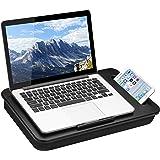 LapGear Sidekick Lap Desk - Black - Fits Up to 15.6 Inch Laptops - Style No. 44218