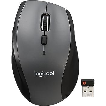 Logicool ロジクール ワイヤレスマラソンマウス M705m 7ボタン 快適形状 Mac/Win対応 長電池寿命