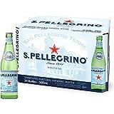 Sanpellegrino Sparkling Natural Mineral Water, 24 x 500ml, Natural
