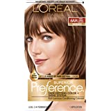 L'Oreal Paris Superior Preference Fade-Defying Color + Shine System, 6AM Light Amber Brown(Packaging May Vary)