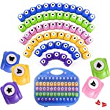 Shape Paper Punch Set | School Scrapbooking Paper Punchers for Arts and Crafts | Hole Punch Shapes That Kids and Adults Adore