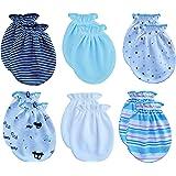 Songbai Newborn Baby Boys and Girls Gloves,No Scratch Mittens 100% Cotton