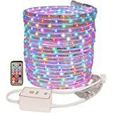 LED Rope Lights – Urban Ad Hoc All in One – RGB Rainbow Colors – Water Resistant – Remote Control (RGB, 50 Feet)