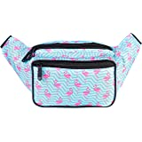 SoJourner Bum Bag Fanny Pack Flamingo | for women, men and kids | cute fits small medium large