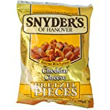 Snyder's of Hanover Cheddar Cheese Pretzel Pieces, 125g