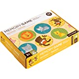 Petit Collage Memory Game, Animals and Babies (24 chunky cards to match)