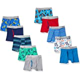 Hanes Boys' Tagless Super Soft Boxer Briefs 10-Pack