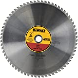 DEWALT DWA7747 66 Teeth Heavy Gauge Ferrous Metal Cutting 1-Inch Arbor, 14-Inch Silver