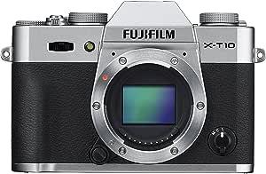 FUJIFILM ミラーレス一眼 X-T10 ボディ シルバー X-T10-S
