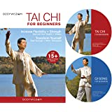Tai Chi For Beginners 2-DVD Set, Includes Qi Gong for Beginners: Over 16 Easy to Follow Routines. includes Gentle Tai Chi for