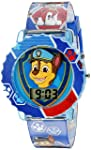 Paw Patrol Kids' Digital Watch with Blue Case, Comfortable Blue Strap, Easy to Buckle - Official 3D Paw Patrol Character...