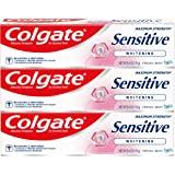 Colgate 敏感ホワイトニング最大強度の歯磨き粉フレッシュミント、フレッシュミント6オズ(3パック)