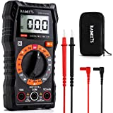 KAIWEETS Multimeter 2000 Counts Digital Multimeter with DC AC Voltmeter, Ohm Volt Amp Test Meter and Continuity Test Diode Vo