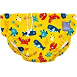Bambino Mio, Reusable Swim Nappy, deep sea Yellow, Extra Large (2+ Years)