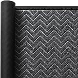 Color&Geometry Outdoor Door Mat 35X59 Rubber Mats, Low-Profile Doormat, Indoor Outdoor, Waterproof, Heavy Duty Mat for Floor,