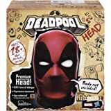 Marvel Legends Deadpool's Head Premium Interactive, Moving, Talking Electronic, App-Enhanced Adult Collectible, with 600+ SFX