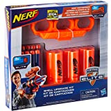 Nerf Shell Upgrade Kit -- Includes 3 Shells, 9 Official Nerf Elite Darts, Shell Holder -- For Kids, Teens, Adults