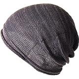 (エッジシティー)EdgeCity コットン アクリル ニット帽 大きいサイズ メンズ 日本製