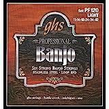 GHS PF120Set of 6Strings Banjo Light