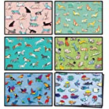 48 Blank Cards with Envelopes Bulk - Assorted Animal All Occasion Greeting Cards - Includes Blank Note Cards, Envelopes, Stic