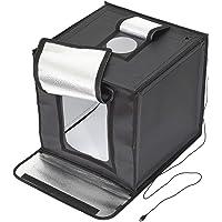 【Amazon.co.jp限定】 HAKUBA 撮影ボックス LEDスタジオボックス40 LEDライト 44×43×59…