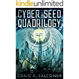Cyber Seed Quadrilogy: The Complete Box Set (Books 1-4 of the Near-Future Sci-Fi Technothriller Series) (Sycamore)