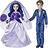 Disney Descendants Mal and Ben Dolls, Inspired by Disney The Royal Wedding: A Descendants Story, Toys Include Outfits, Shoes,