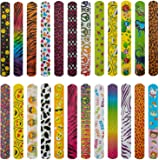 AIEX Slap Bracelets Slap Bands for Boys and Girls Birthday Party Halloween Easter Favors