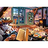 Ravensburger Cozy Retreat 500 Piece Large Format Jigsaw Puzzle for Adults - Every Piece is Unique, Softclick Technology Means