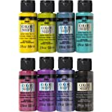 FolkArt Color Shift Glossy Metallic Finish Acrylic Craft Paint Set Designed for Beginners and Artists, Non-Toxic Formula Perf
