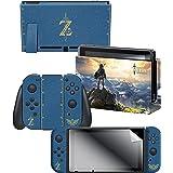 Controller Gear Nintendo Switch Skin & Screen Protector Set, Officially Licensed by Nintendo - The Legend of Zelda - Nintendo