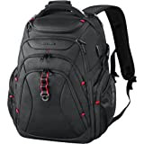 KROSER Travel Laptop Backpack 17.3 Inch XL Heavy Duty Computer Backpack with USB Charging Port RFID Pockets Water-Repellent B