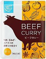 [Amazonブランド]Happy Belly ビーフカレー 中辛 180g×15個