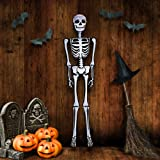 ArtCreativity Halloween Skeleton Inflate Decoration - 6ft Tall - Cute and Creepy Home Decor - For Indoor and Outdoor Use - Ha