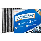 Spearhead Premium Breathe Easy Cabin Filter, Up to 25% Longer Life w/Activated Carbon (BE-PARENT) 9.8 x 9.2 x 1.2 in