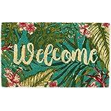 DII Spring/Summer Doormat, 18x30x0.5, Tropical Welcome