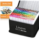 Lineon 172 Colors Markers