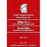 ショスタコーヴィチ: 「ジャズ組曲」より ワルツ 第2番/シコルスキ社/ピアノ・ソロ