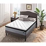 Zinus Comforta Luxe Queen Mattress iCoil Pocket Spring with Euro Top Bed