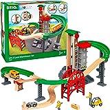 BRIO ( ブリオ ) WORLD ウェアハウスレールセット 対象年齢 3歳~ ( 電車 おもちゃ 木製 レール ) 33887