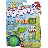 Transformers Toys Botbots Series 2 Spoiled Rottens 8 Pack – Mystery 2-in-1 Collectible Figures! Kids Ages 5 & Up (Styles & Co