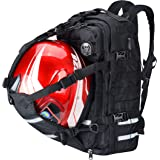 Goldfire V2 Waterproof Rechargeable Large Capacity Expandable Motorcycle Cycling Helmet/Laptop Backpack College Casual Daypac