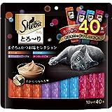 シーバ (Sheba) 猫用おやつ とろ~り メルティ まぐろ&かつお味セレクション 12g×40本入